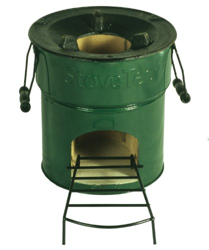 StoveTec Economy 1 Door Stove (Wood or Biomass Fuel), Outdoor Stuffs
