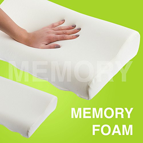 Savesoft memory foam pillow small comfortable for Best soft memory foam pillow