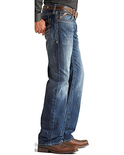 Ariat Men's M4 Cliffhanger Medium Wash Jeans