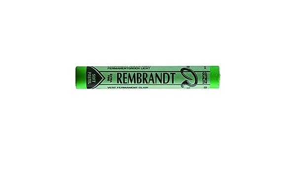 Talens Rembrandt Soft Pastel Permanent Green Light TR618.3