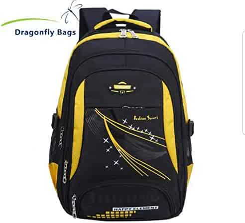 Fashion Sports Leisure School Backpack Laptop Bag Waterproof Outdoor Traveling  for Men and Women Light Weight 88734f8b35
