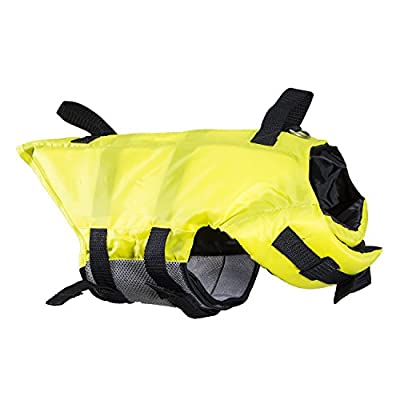 Swimways Doggie Swim Vest Pool Lake Boat with Handles Yellow