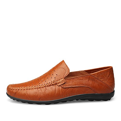 Morbidi Slipper Loafer Uomo di Design Casual Cricket Mocassini Moda alla Driving da Scarpe Slip On da 5qpUfnn7x