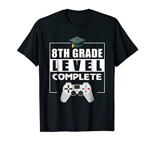 8th Grade Graduation Shirt Video Gamer Graduation Gifts ()