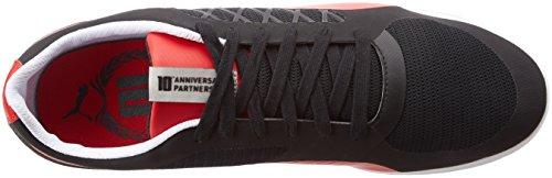 Sf Corsa rouge Baskets black rosso 2 10 Adulte Mixte Basses Valorosso Noir Puma 4EwUqna
