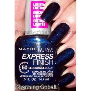 (Maybelline Express Finish Nail Polish Charming Cob)