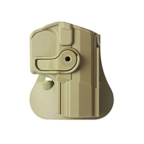 IMI-Z1420 Polymer Retention Roto Holster for Walther M1 (PPQ Classic), M2, Navy SD Pistols (Tan)