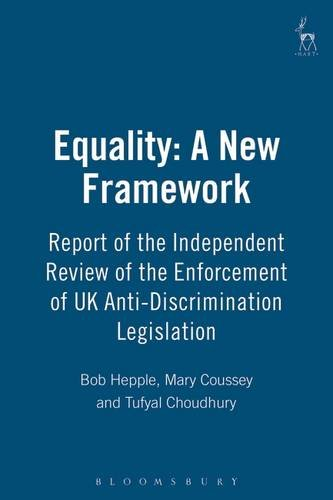 Equality: A New Framework: Report of the Independent Review of the Enforcemen