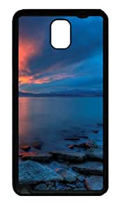 Samsung Galaxy Note 3 CaseUtah Lake Sunset TPU Custom Samsung Galaxy Note 3 / Note III/ N9000 - Black