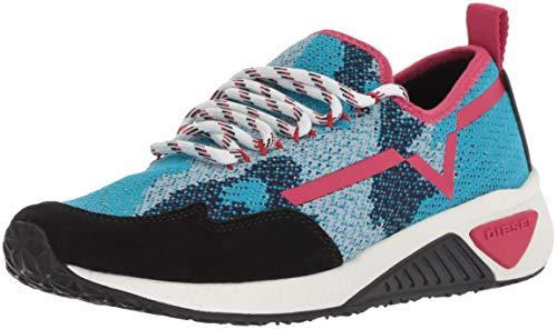 Diesel Women's SKB S-Kby Sneaker, Multicolor/Methyl Blue, 7.5 M ()