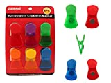 6PC Multipurpose Magnetic Clips , Case of 72