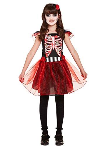 Henbrandt Halloween Girl Costume Skeleton Age 4-6 Years