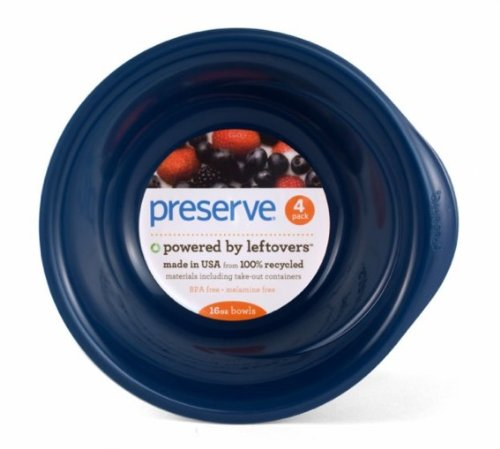 Preserve Everyday Bowls 4Ct/Blue
