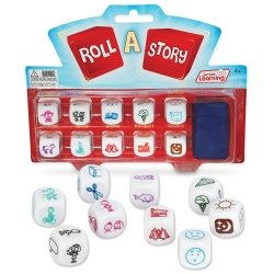 Junior Learning Roll A Story Dice Game