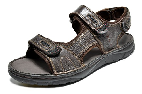 Bruno Marc Mens Maui Outdoor Fisherman Sandals Brown