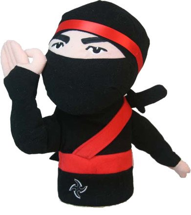Amazon.com: Oversized Ninja Golf Cabeza cover: Sports & Outdoors