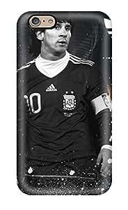 For Iphone 6 Premium Tpu Case Cover Lionel Messi Argentina Protective Case(3D PC Soft Case)