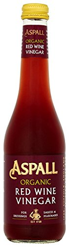 Aspall Organic Red Wine Vinegar 350ml - Pack of 6