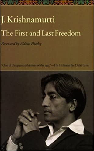 Book The First and Last Freedom by J. Krishnamurti (1975-03-26)