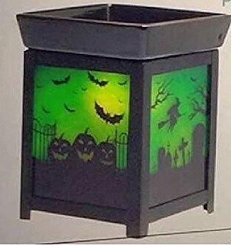 Scentsy Pumpkin Graveyard Full- Size Premium Warmer for Wax, Tarts