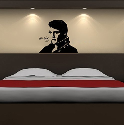 - Elvis Presley Silhouette Vinyl Wall Decal Sticker Graphic