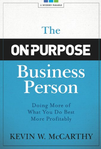 Purpose Business Person Doing Profitably ebook product image
