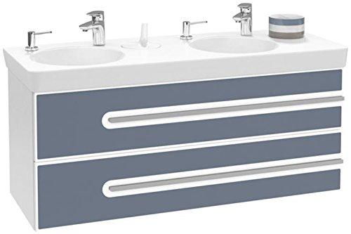 Villeroy + Boch Waschtischunterschrank Joyce B86500 1262x535x463 Glossy White/Oak, B86500MP
