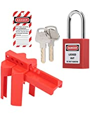 Engineering Safety Lock Kit, Excellent Workmanship Sturdy and Durable High-Quality Material Lock Lock Kit for Industrial Chemical/Electric Power/Petroleum