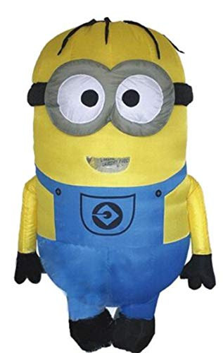 HeroCOCO Adult Inflatable Minion Cosplay Party Costume Mascot for 1.5-2m -