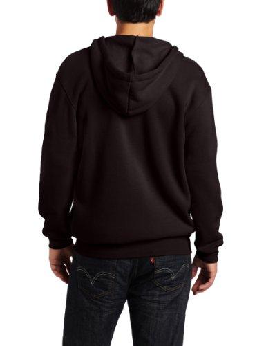 028e9a006 Carhartt Men's Midweight Hooded Zip-front Sweatshirt,Black,2X-Large