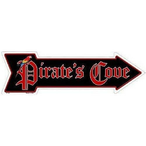 (ShopForAllYou Decor Signs Pirates Cove Novelty Metal Arrow Sign 5
