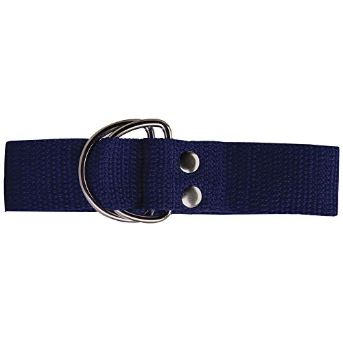 "Adams USA Schutt Sports Football Web Belt, Royal Blue, 1"" Wide"