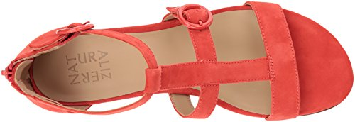 Naturalizer Womens Flat Sandal Papaya Flat