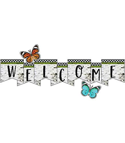 Schoolgirl Style Woodland Whimsy Welcome Bulletin Board Set