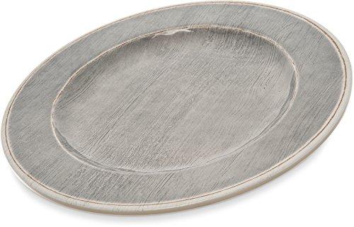 - Carlisle 6400118 Grove Melamine Dinner Plate, 11