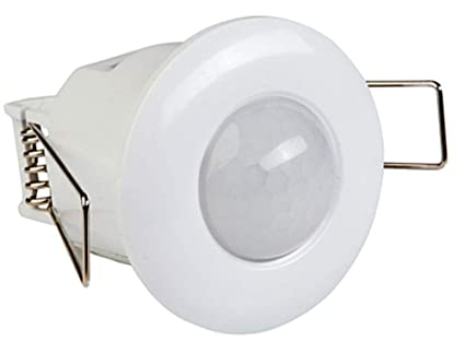 Mini sensor de movimiento de montaje de 360° manta 10-800W empotrado 8 m