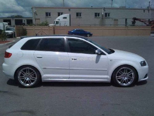 AUDI A3 8pa desde 2003 Sportback Faldó n Lateral S LINE Aleró n tuning-deal