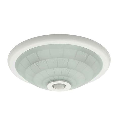 EU - Lámpara de techo (con sensor de movimiento, 2 bombillas de 40 W