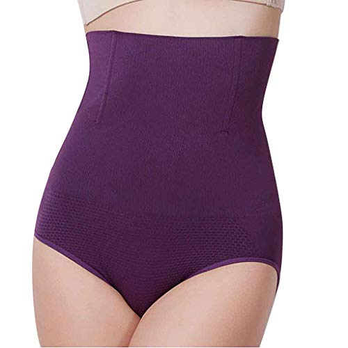 Big Sale Yetou High Waists Trousers Body Pants Underwear Body-Shaping Comfort Body-Shaping Pant Purple