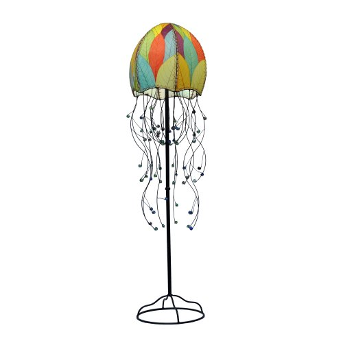 Eangee Jellyfish Series Floor Lamp, 67-Inch Tall, Multicolo