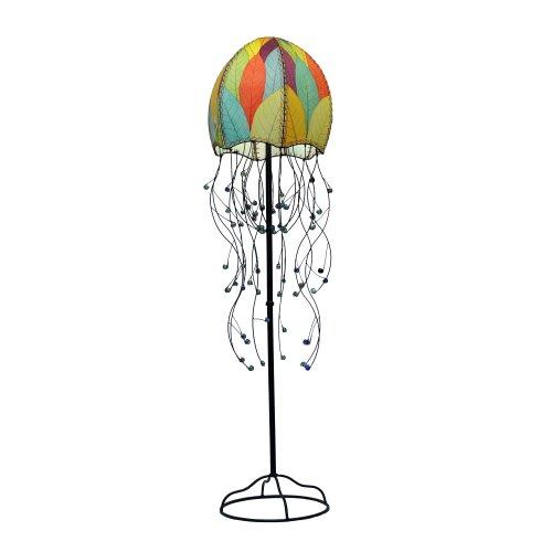 Eangee Jellyfish Series FloorLamp, 67-Inch Tall, Multicolo