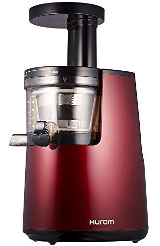 Hurom HH-EBE11 Slow Juicer HH 2. Generation Entsafter 40U / min, weinrot