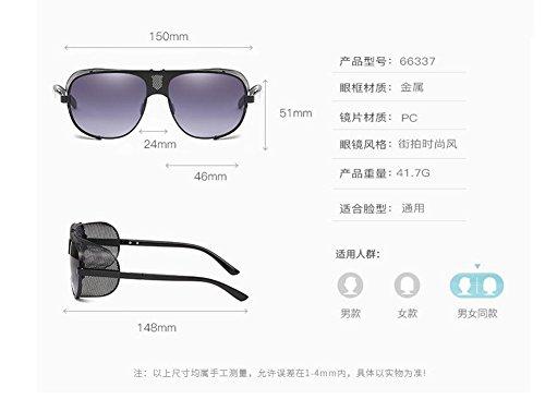 Complète de inspirées soleil rond Lennon métallique lunettes vintage de retro Thé style polarisées du en cercle Tranche Taww16Rntq