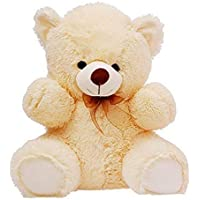 Deepika Soft Toys Premium Quality Extra Large Very Soft Lovable/Huggable 2 FEET Long (152 cm) Best for Someone Special Teddy Bear for Girlfriend/Birthday Gift/Boy/Girl (Cream)