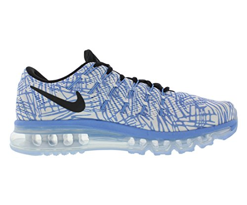 Nike Damen Wmns Air Max 2016 Print Laufschuhe Azul (Chalk Blue / Black-Sail)