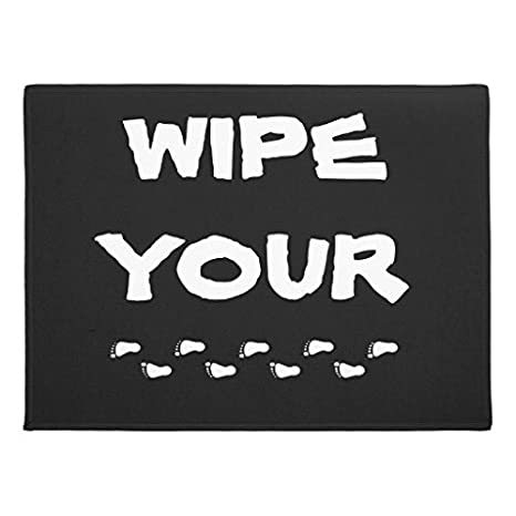 Amazon Com Funny Rugs For Living Room Wipe Your Feet Doormat Non