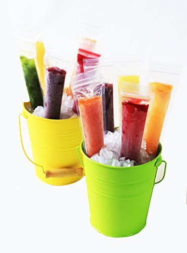 Zipzicle ZIP36 Ice Pop Pouch, 36-Pack, Clear