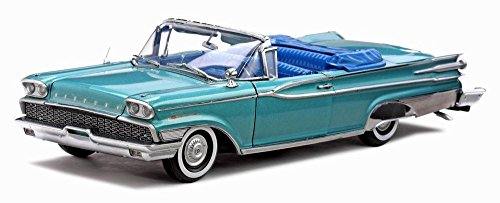 1959 Mercury Park Lane Convertible, Turquoise - Sun Star 5151 - 1/18 Scale Diecast Model Toy Car