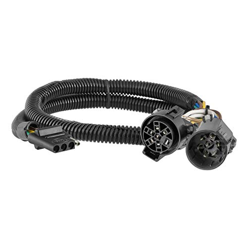 CURT 55384 Replacement Vehicle-Side Custom USCAR 4-Pin Trailer Wiring Harness ()