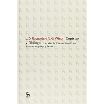 Copistas Y Filólogos (NUEVA BRH)